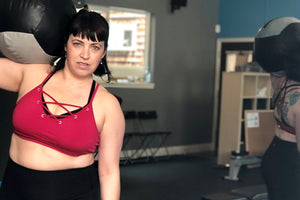 Superfit Hero Body Positive Fitness Trainer Kris Walkers of FreetoBFit
