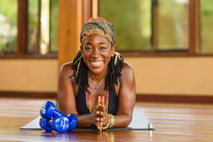 Superfit Hero Body Positive Fitness Trainer Nadine McNeil Yoga
