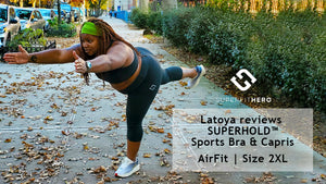 Superfit Hero Latoya Snell reviews Plus Size Leggings
