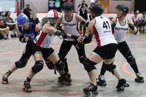 Superfit Hero Sponsored Team Gotham Girls Roller Derby on the Body Positive Fitness Finder
