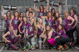 Superfit Hero Sponsored Team Rodeo City Rollergirls on the Body Positive Fitness Finder