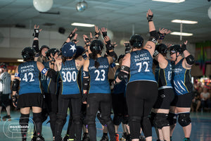 Superfit Hero Sponsored Team Sacramento Roller Derby on the Body Positive Fitness Finder