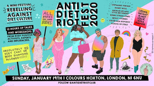 Superfit Hero Sponsored event Anti Diet Riot Fest 2020 in London, UK January 19, 2020