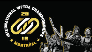 Superfit Hero Sponsored Teams attending the 2019 WFTDA International Championships in Montreal on November 13-15