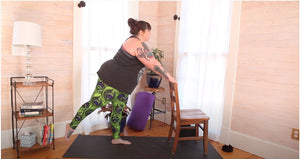 Body Positive Yoga Workout from Home with Amber Karnes, Sponsored by Superfit Hero