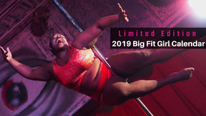 2018 Big Fit Girl Calendar Roz the Diva