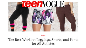 Superfit Hero is #1 on Teen Vogue's List of Best Workout Bottoms