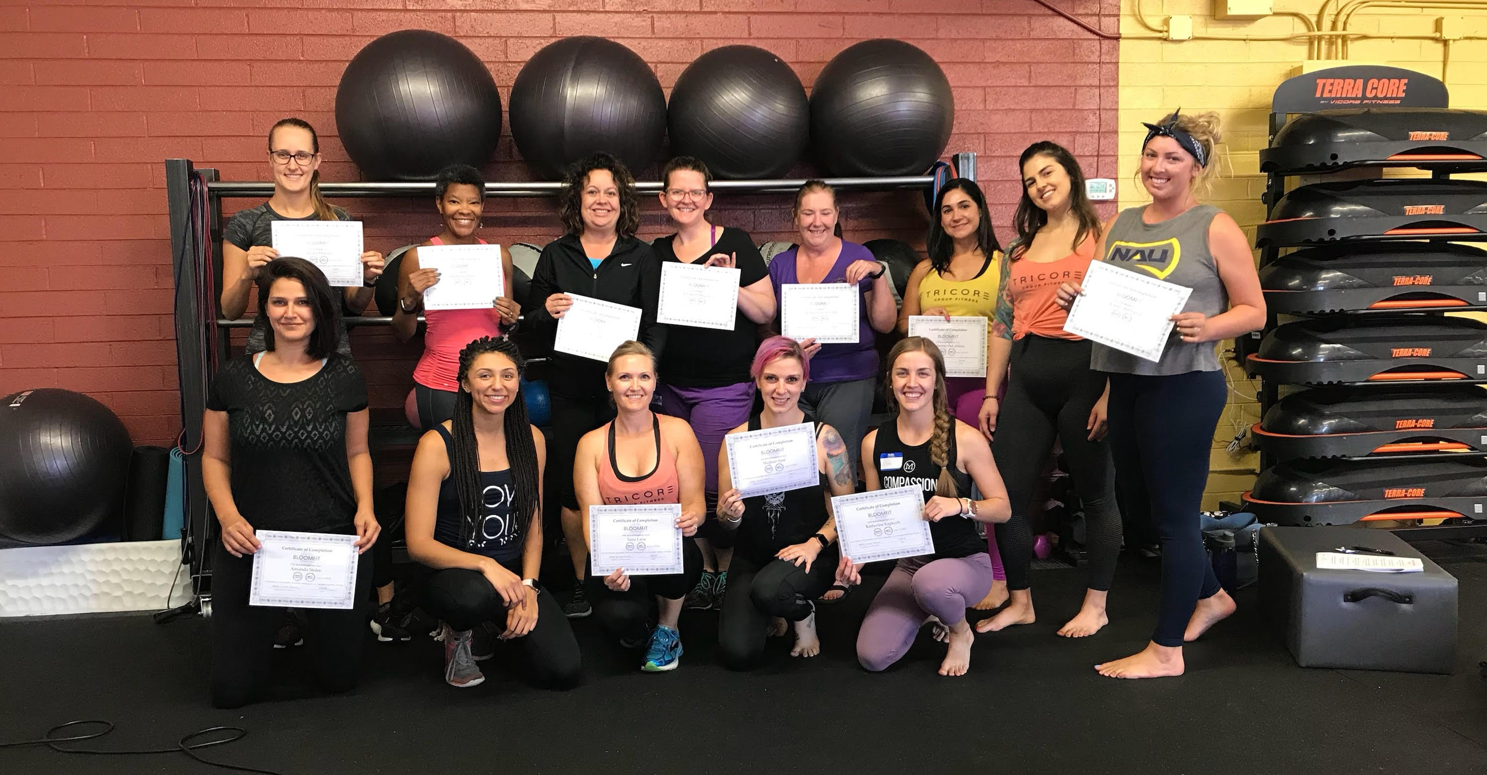 Bloomfit Training, Superfit Hero Body Positive Fitness Certification Partner