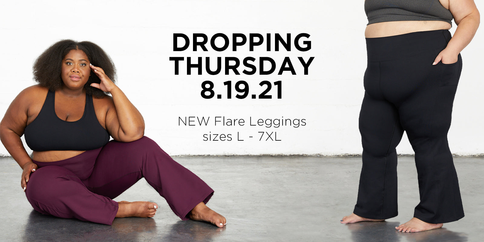 DROPPING THURSDAY - Superfit Hero Plus Size Flare Yoga Legging with Pockets
