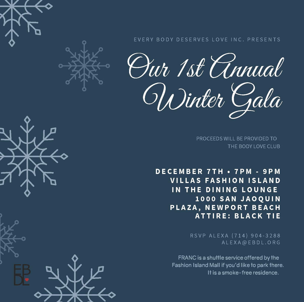 Every Body Deserves Love's 1st Annual Winter Gala