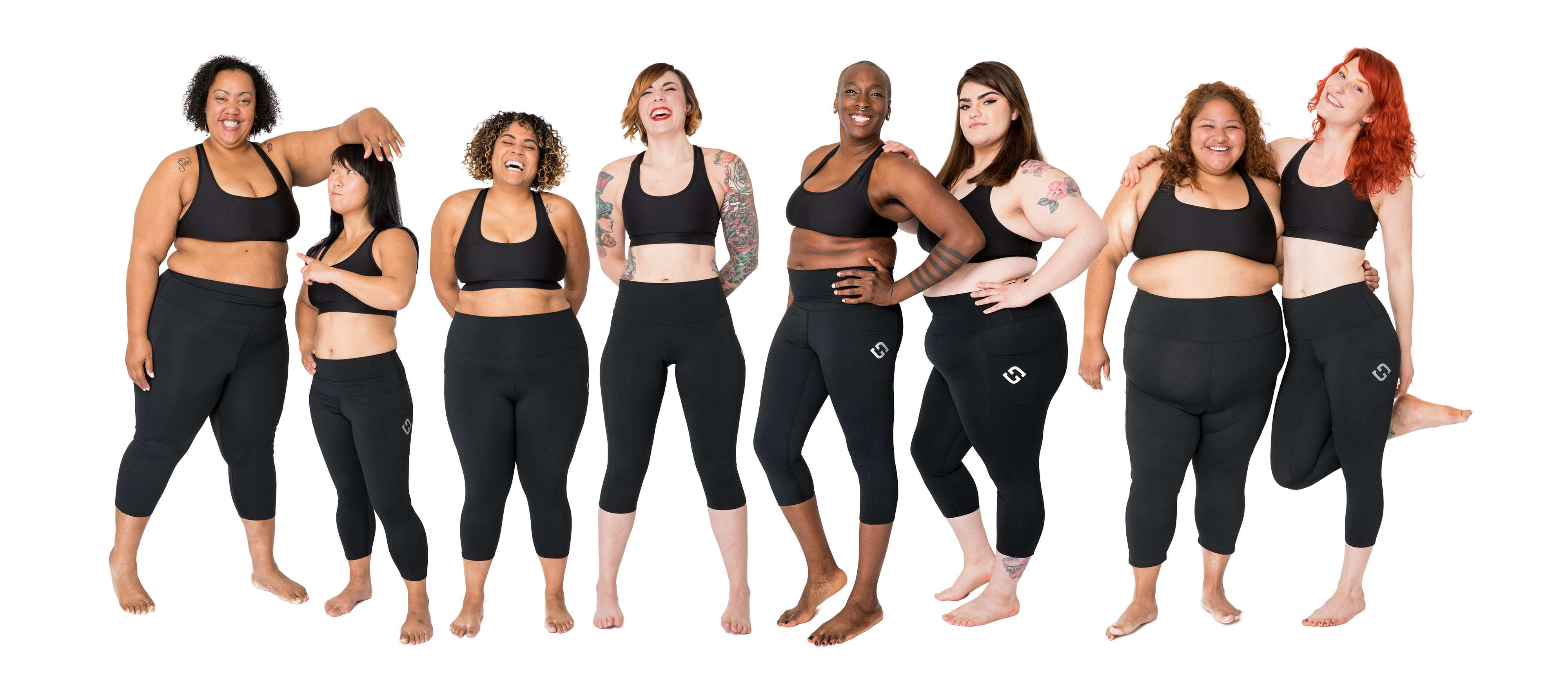 Superfit Hero size inclusive leggings for athletes XS-4XL