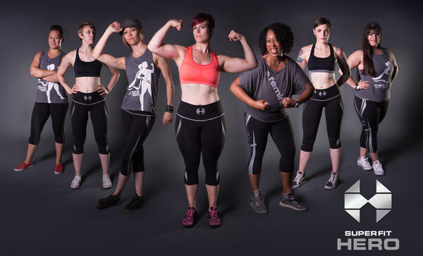Superfit Hero - Let's Talk About a Revolution for Women's Fitness