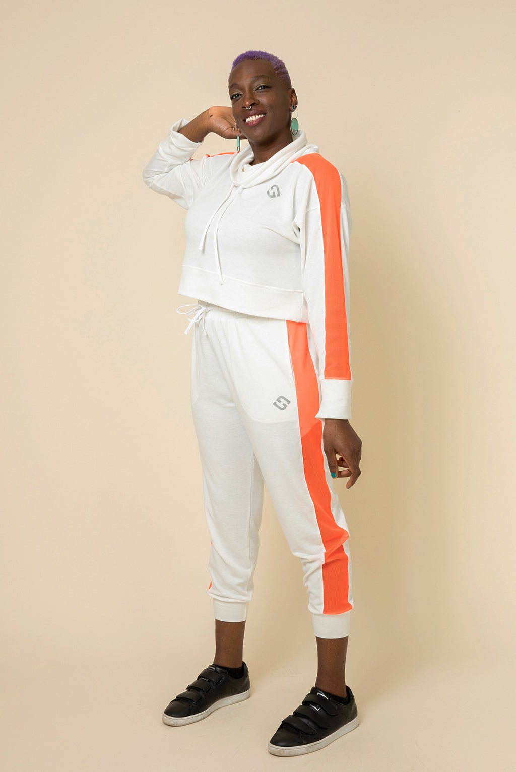 Superfit Crop Pullover - Ivory
