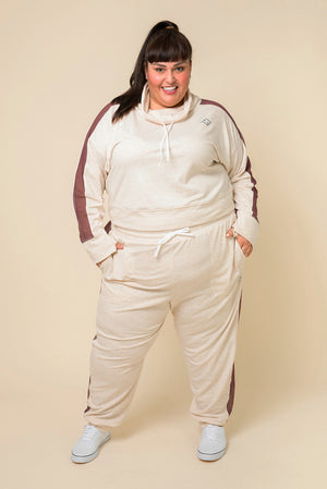 Superfit Jogger Pant - Heather Sand
