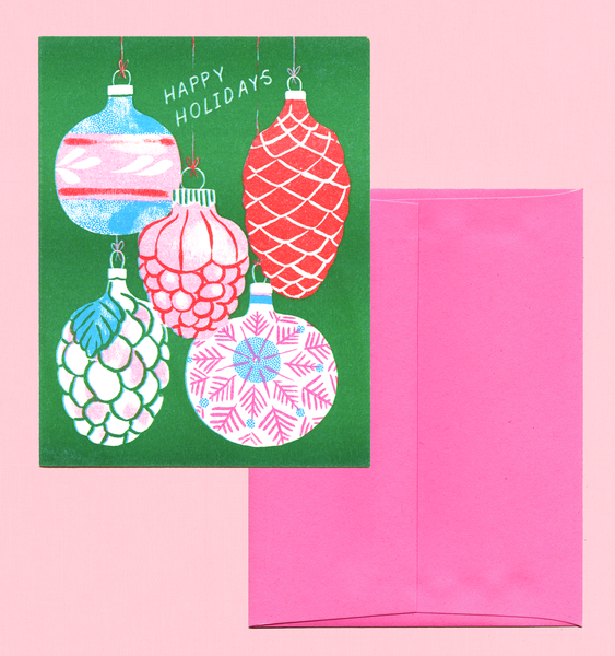 ORNAMENT CARD | SINGLE CARD + ENVELOPE