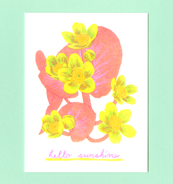 HELLO SUNSHINE CARD | SINGLE CARD + ENVELOPE