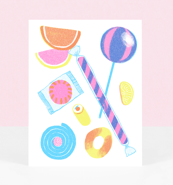 PEACH RING CARD | SINGLE CARD + ENVELOPE
