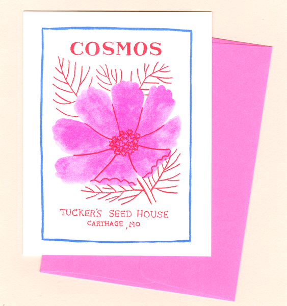 COSMOS CARD | SINGLE CARD + ENVELOPE