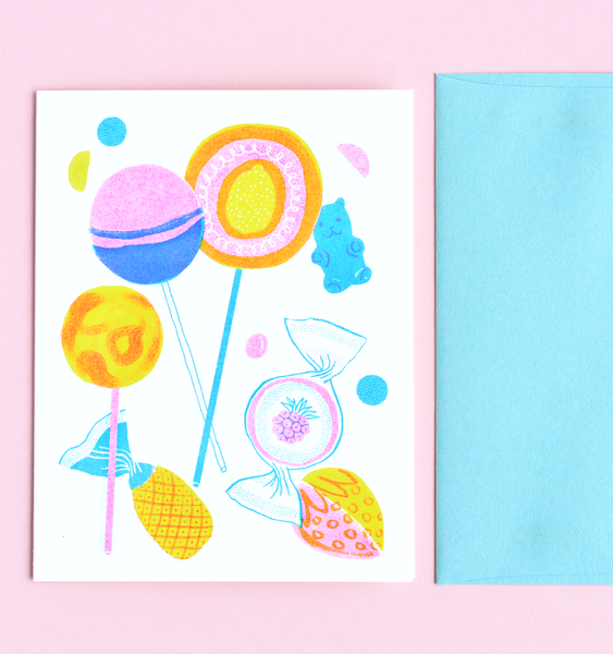 GUMMI BEAR CARD | SINGLE CARD + ENVELOPE