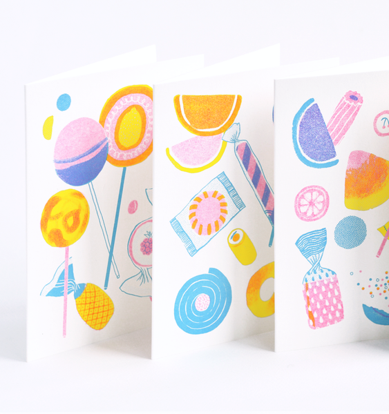 JAW BREAKER CARD | SINGLE CARD + ENVELOPE