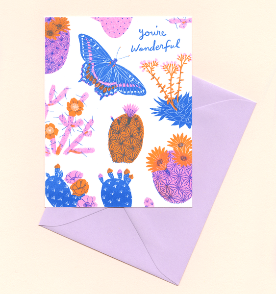 DESERT WONDERFUL | SINGLE CARD + ENVELOPE