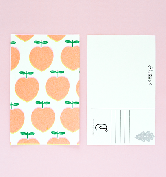 FRUIT CUP | 6 RISOGRAPH POSTCARDS