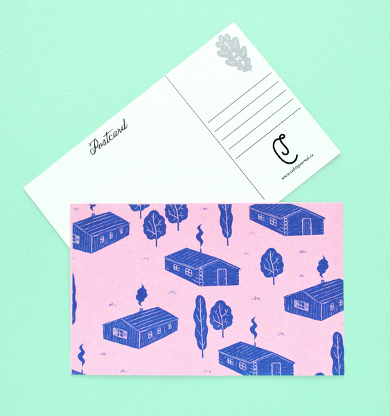 SURPRISE | 6 RISOGRAPH POSTCARDS