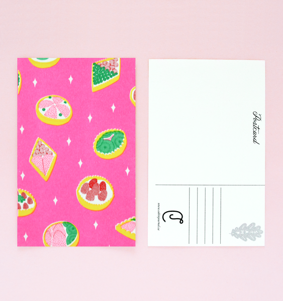 SNACK PACK | 6 RISOGRAPH POSTCARDS