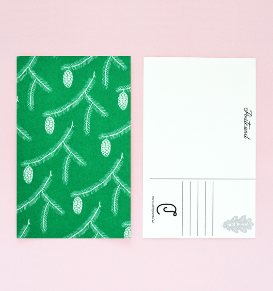 SINGLE RISOGRAPH POSTCARD