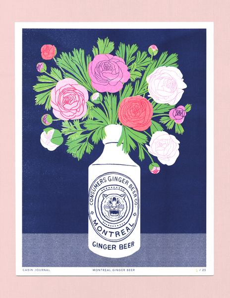 MONTREAL GINGER BEER ART PRINT