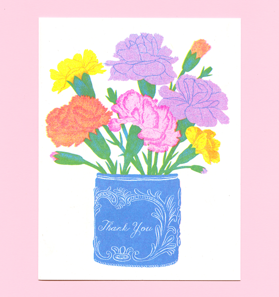 POSY THANK YOU CARD | SINGLE CARD + ENVELOPE
