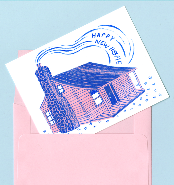 CABIN NEW HOME CARD | SINGLE CARD + ENVELOPE