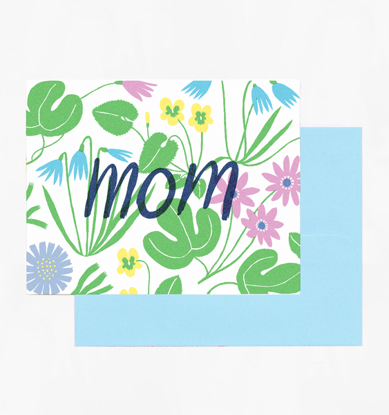 MOM SPRING GARDEN | SINGLE CARD + ENVELOPE