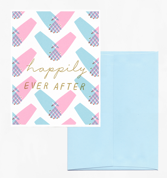 WEDDING HANDS | SINGLE CARD + ENVELOPE