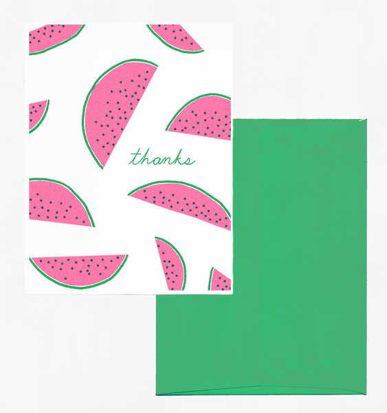 MELON THANKS | SINGLE CARD + ENVELOPE