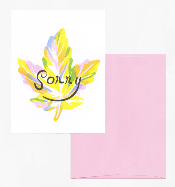 CANADIAN SORRY | SINGLE CARD + ENVELOPE