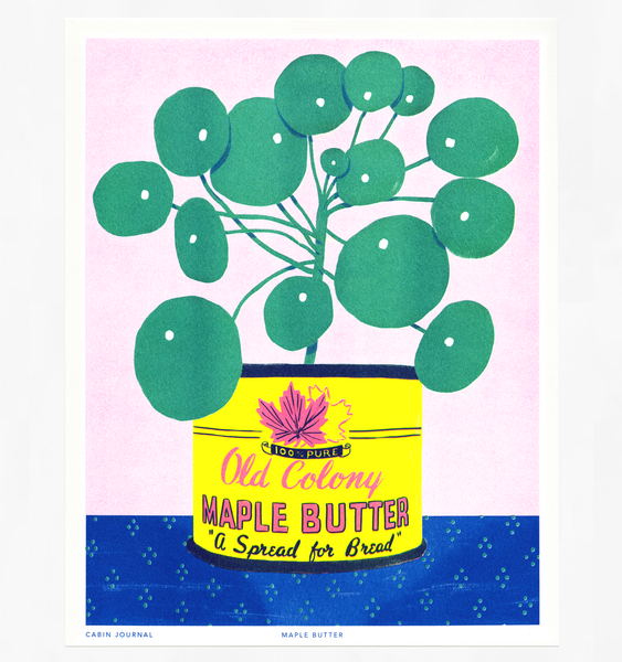 MAPLE BUTTER ART PRINT