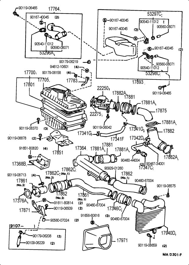 part diagrams intake  fuel  emission system  u2013 rat2 motorsports