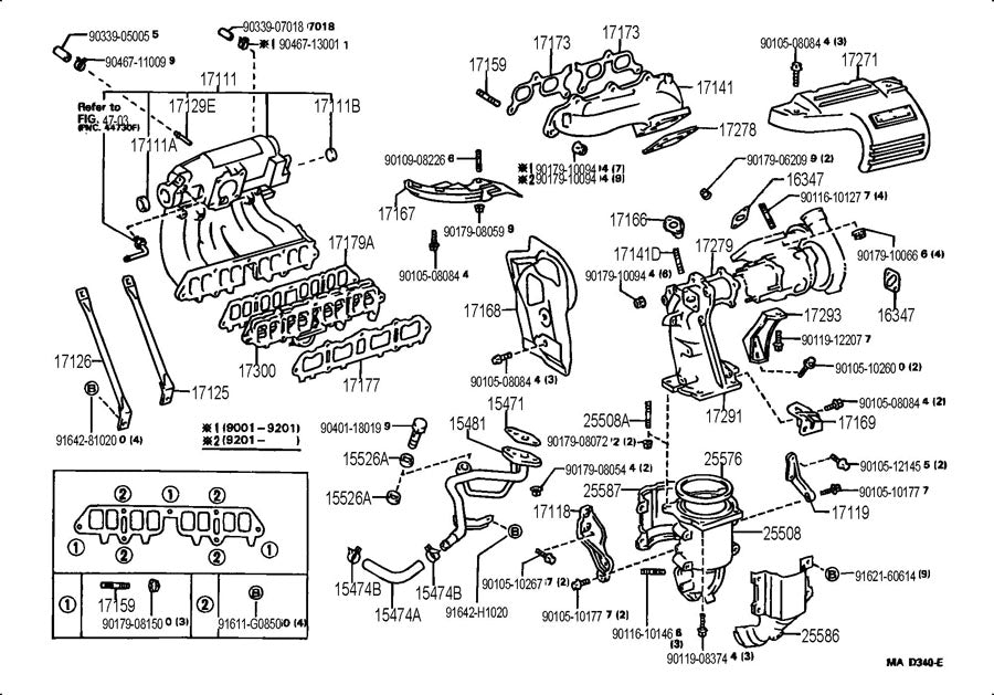 Part Diagrams Intake/Fuel/Emission System– Rat2 Motorsports