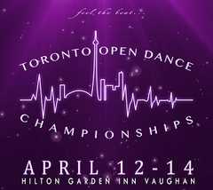 Sparkle and Shine: Toronto Open Dance Championships 2019!