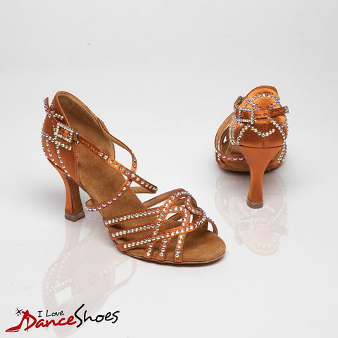 Comet ladies Latin dance shoe