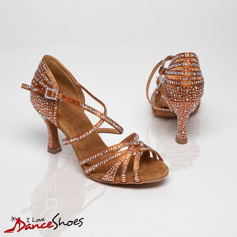 Jeannie ladies latin dance shoe