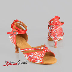 scarlett ladies latin dance shoe