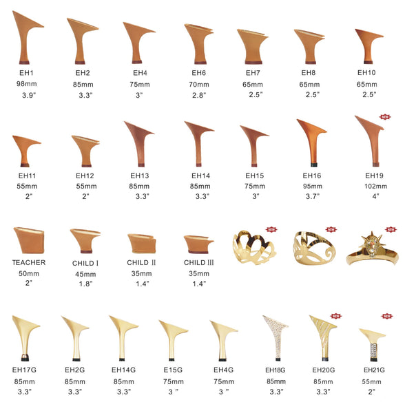 Dance Shoes Heel Options