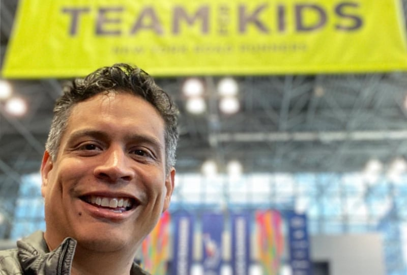 Running for Team for Kids in 2020