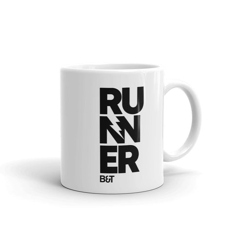 Never Give Up Big Letters - Mug