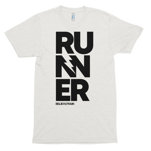 Runner Big Letters - T-Shirt
