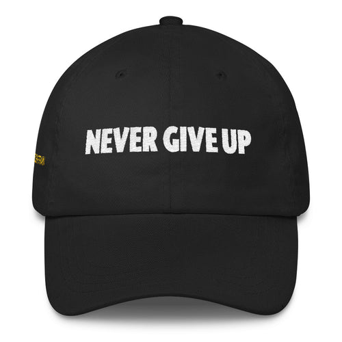 Never Give Up Classic Cap