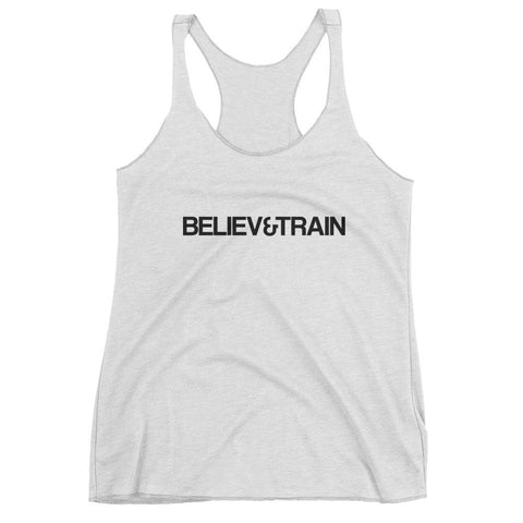 Believe&Train tank top