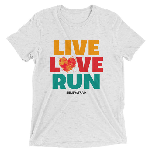 Heart Live Love Run t-shirt